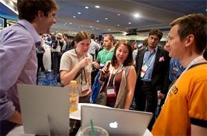 The startup showcase at Web 2.0 Expo NY 2010