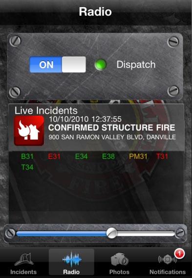 FireDepartment app