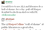 HarperCollins' digital lending cap sparks lively discussion