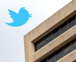 Twitter and office building