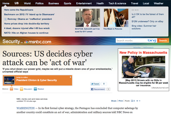 MSNBC screen shot