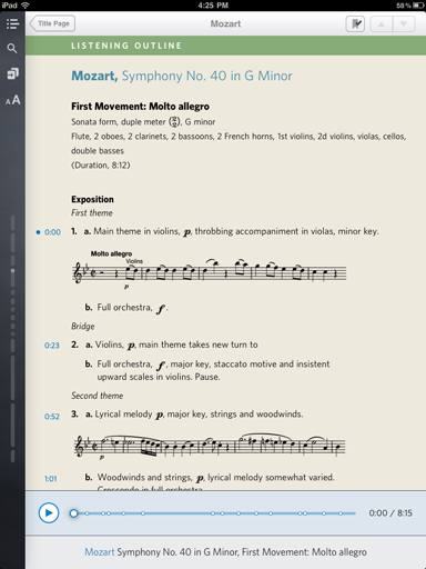 Music: An Appreciation (an Inkling textbook)