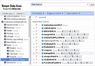 Bangor Daily News Google Docs