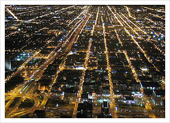 Chicago Skyline @ Night by Rhys Asplundh, on Flickr