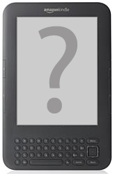 Kindle with question mark