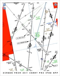 Sky Chart Pro screen