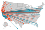 Visualization of the Week: A better U.S. migration map - Jon Bruner updates his