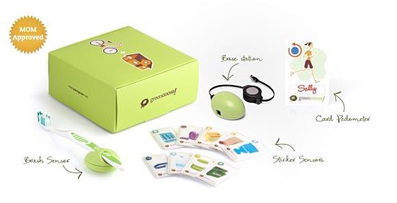 GreenGoose sensor system