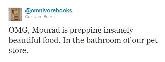 Omnivore Books tweet 3