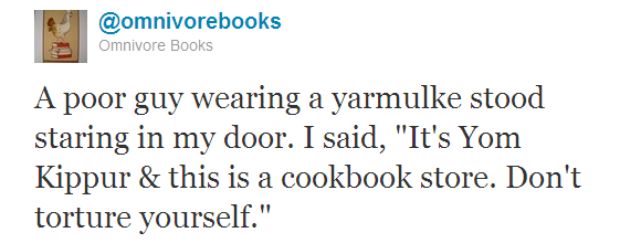 Omnivore Books tweet 5