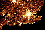 Visualization of the Week: Mapping traffic casualties - A BBC visualization maps every traffic casualty in the UK between 1999-2010.