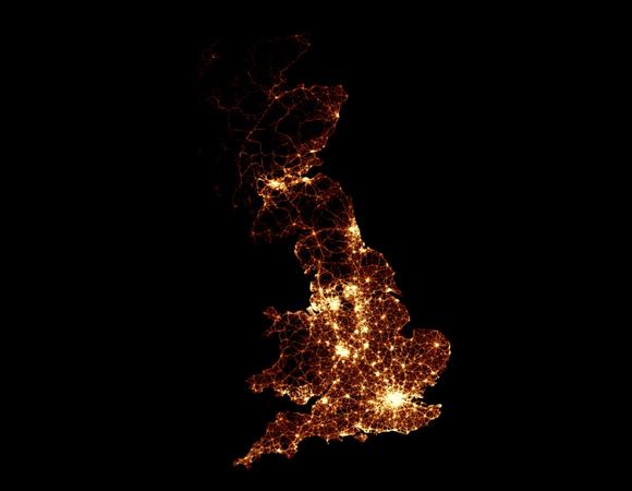 BBC traffic visualization