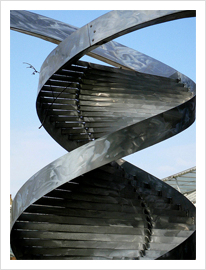 Bootstrap DNA by Charles Jencks, 2003 by mira66, on Flickr