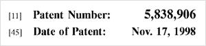 US Patent 5,838,906