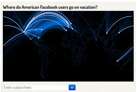 See the full Facebook vacation visualization