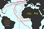 Visualization of the Week: The history of shipping routes
